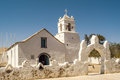 San pedro de atacama church in Royalty Free Stock Image
