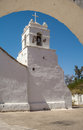 San pedro de atacama church in Royalty Free Stock Photography