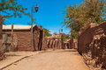 San pedro de atacama village Royalty Free Stock Photos