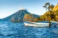 San Pedro Volcano On Lake Atit...