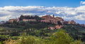 San quirico tuscany italy view of san quirico in tuscany on m may Stock Images