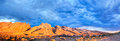 San rafael swell at sunrise Royalty Free Stock Images