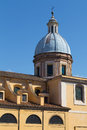 San rocco church chiesa di san rocco rome italy th march closeup to part of in rome during the day Stock Photo