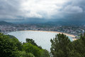 San Sebastian Donostia, Basque country, Spain. Royalty Free Stock Photo
