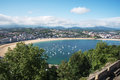 San Sebastian Donostia at Biscay bay coast, Spain. Royalty Free Stock Photo
