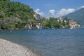 San siro lake como italy village of near menaggio and tremezzo at italian district Stock Images