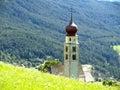 San Valentino church in Sud Tyrol Stock Photography