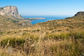 San vito lo capo gulf in sicily beautiful view of Stock Photos