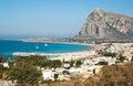 San Vito Lo Capo town in Sicily Royalty Free Stock Photo