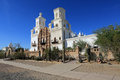 San Xavier del Bac Mission Royalty Free Stock Photo