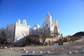 San xavier del bac mission tucson near Stock Photo