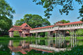 Sanam chan palace king rama nakhon pathom thailand Royalty Free Stock Photo