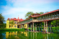 Sanam chan palace of thailand nakhon pathom Royalty Free Stock Photos