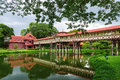 Sanam chandra palace in thailand Stock Image
