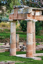 Sanctuary of Artemis Royalty Free Stock Photography