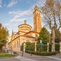 Sanctuary Beata Vergine dei Miracoli, Saronno, Italy Royalty Free Stock Photo