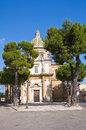 Sanctuary church of mater domini mesagne puglia italy perspective the Stock Image