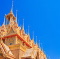 Sanctuary church at the temple wat tha sung in uthai thani province of thailand Stock Images