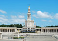 Sanctuary of fatima neo classical style from portugal Stock Image