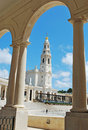 Sanctuary of fatima neo classical style from portugal Royalty Free Stock Images