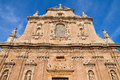Sanctuary of Holy Crucifix. Galatone. Puglia. Italy. Royalty Free Stock Photo