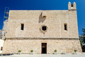 The Sanctuary, medieval bulding in San Vito Lo Capo, Sicily Royalty Free Stock Photo
