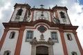 Sanctuary Nossa Senhora da Conceicao, Ouro Preto Royalty Free Stock Images