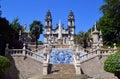 Sanctuary of nossa senhora dos remedios lamengo portugal Royalty Free Stock Photos