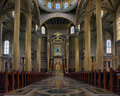 The Sanctuary of Our Lady of Lichen - inside. Stock Photography