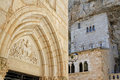 Sanctuary in rocamadour france june attracts visitors for its setting a gorge above a the river dordogne and for its historical Stock Photos