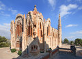 Sanctuary of Santa Maria Magdalena in Novelda, Spain. Royalty Free Stock Photo