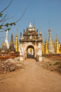 Sanctuary Shwe In Tain Stock Images