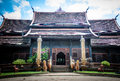 Sanctuary of wat lok moli sometimes also seen written as molee is a buddhist temple thai language in chiang mai northern thailand Stock Photography