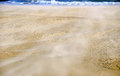 Sand background texture on beach Stock Photo