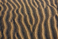 Sand background textured with low sun Stock Photography