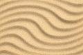 Sand Beach Background With Wav...