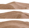 Sand borders Stock Photos