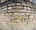 Sand brickstone wall Stock Photo