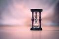 Sand clock Royalty Free Stock Photo
