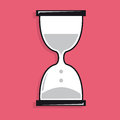 Sand clock icon cartoon illustration or Royalty Free Stock Photography