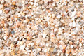 Sand close up of coarse on a beach Stock Photos
