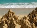 Sand Creation Royalty Free Stock Image