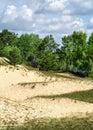 Sand-dune. Royalty Free Stock Photo