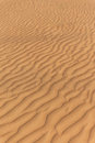 Sand Dune with Wind Trace Texture at Dubai Royalty Free Stock Photo