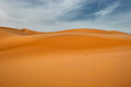 Sand dunes of erg chebbi morocco africa Stock Photography