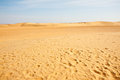 Sand dunes in Sahara Royalty Free Stock Image