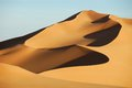 Sand dunes in Sahara desert, Libya Royalty Free Stock Photo