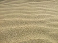 Sand dunes waves background on beach Stock Images