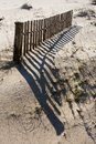 Sand fence Stock Photography