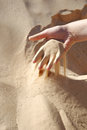 Sand in the hand